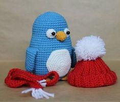 Crochet baby penguin amigurumi pattern also in Dutch! Amigurumi Doll, Amigurumi Patterns, Crochet Patterns, Crochet Dolls, Crochet Baby, Free Crochet, Crochet Penguin, Crochet Animals, Crochet Christmas Ornaments