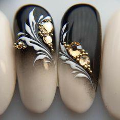 Beautiful Nail Designs, Beautiful Nail Art, Swirl Nail Art, Nagellack Design, Nail Art Designs Videos, Indigo Nails, Nail Room, Nail Polish Art, Stamping Nail Art