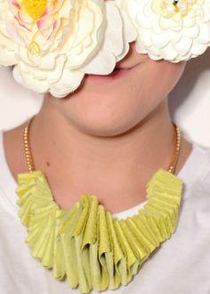 Glicine leather necklace - www.scicche.it