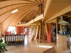 В данном альбоме для общей визуализации представлены различные фото интерьеров купольных домов.