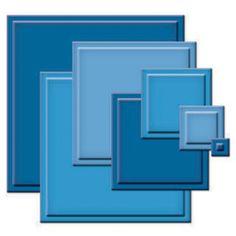 Spellbinders®  Die - Classic Squares Small SM