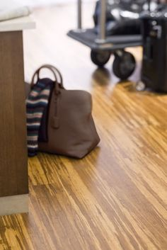 Teragren® | Flooring Gallery Bamboo Flooring - Synergy® Floating Floor Brindle