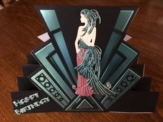 Tattered Lace Art Deco stepper card. Love this new range from ...