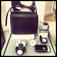 B&W #FullspotBiarritz #Opocket #Oclock O Bag, O Love, Fitbit Flex, Different Styles, Clock, Handbags, Pocket, Women, Fashion