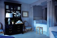 The Most Beautiful Blue Bedroom