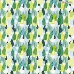 "Fabric pattern ""RegenSchauer"" (#71170) © Kritzelheldin |www.stoffn.de"