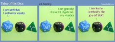 Dice and Sins. Tales