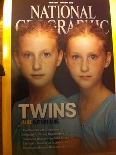 Twins - Alike But Not Alike  Great Article