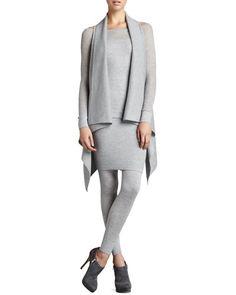 Stretch Cashmere Melange Leggings, $550 at Neiman Marcus