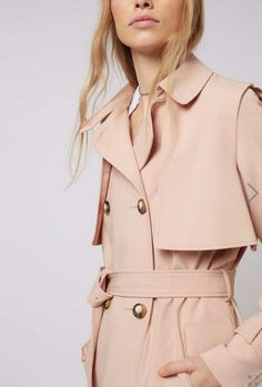 Topshop lightweight belted trench: http://www.stylemepretty.com/living/2016/03/24/the-cutest-spring-coats-at-every-price/: