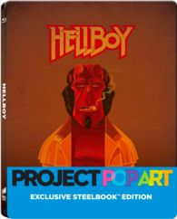 Hellboy (Blu-ray) Temporary cover art