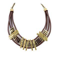Robert Rose Collar Necklace from LittleBlackBag.com