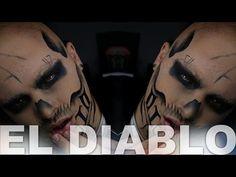 El Diablo Suicide Squad Makeup Tutorial | Alex Faction - YouTube