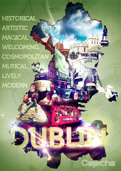 Design piece created for Uniquely Dublin,