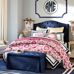 Blue and Pink Bedroom Ideas for Girls. Such cute ideas ...