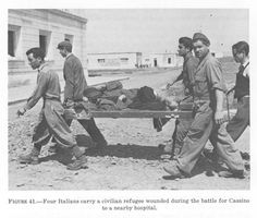 The ill-prepared Italians suffered greatly in North Africa.