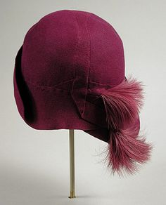 Cloche    Jean Patou, 1929    The Los Angeles County Museum of Art
