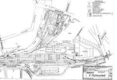 Gleisplan Rüttenscheid (Zustand 1969)