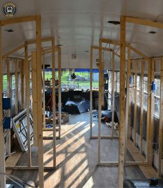 How to turn a school bus into a home. Part 2 - Skoolie Homes - - How to turn a school bus into a home. Part 2 - Skoolie Homes Rv Bus, Rv Campers, Camper Van, Bus Remodel, School Bus House, Converted School Bus, Bus Living, Tiny Living, Short Bus