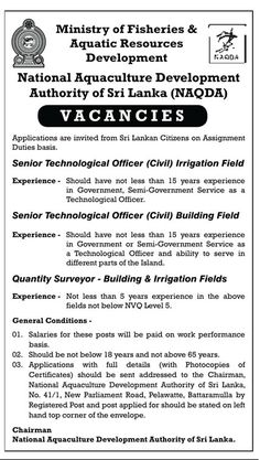 415 Best Government Jobs & Vacancies in Sri Lanka images in