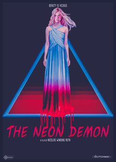 """My """"The Neon Demon"""" alternative poster.Artwork inspired by horror (especially giallo) movies posters of the late and early 80s Posters, Horror Movie Posters, Cool Posters, Horror Films, The Neon Demon, Fan Poster, Movie Poster Art, Party Poster, Elle Fanning"""