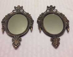 A personal favorite from my Etsy shop https://www.etsy.com/listing/175466691/pair-of-ornate-italian-mirrors