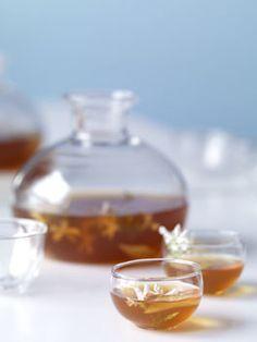 Earl's Punch (Earl Grey tea, Martell VS Cognac, lemon juice)