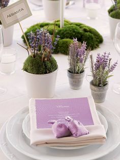 lavender  www.tablescapesbydesign.com https://www.facebook.com/pages/Tablescapes-By-Design/129811416695