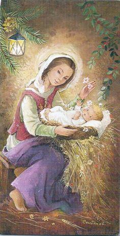 Constanza Christmas Scenes, Christmas Nativity, Christmas Past, Christmas Wood, Christmas Pictures, Vintage Christmas, Beautiful Prayers, Beautiful Gif, Clipart Noel