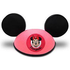 Minnie Mouse Ear Hat - Disneyland Pink