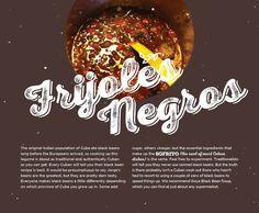 BG Holiday 2014, black beans, Cuban recipes, frijole negros, Cuban sides, cooking, design, Brunet-Garcia Advertising