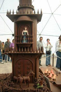 Festival do Chocolate de Óbidos- Romeu e Julieta Gazebo, Outdoor Structures, Fire, Chocolate, Romeo And Juliet, Events, Kiosk, Chocolates, Cabana