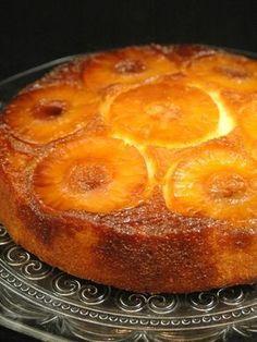 Gâteau à l'ananas facile : Recette de Gâteau à l'ananas facile - Marmiton Document, Desserts, Butter, Pine Apple, Lemon, Rum, Tailgate Desserts, Deserts, Postres