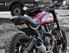 Clean up that bulky fender, exchange those bug-like stock turn signals, and add a tucked license plate amount all-in-one with the best plug and play kit! Ducati Cafe Racer, Honda Scrambler, Car Insurance Rates, Best Build, All In One, Rage, Kit, Adventure, Motorcycles