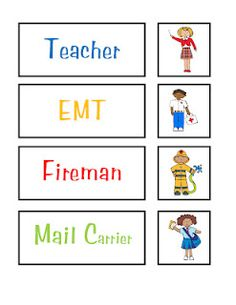 """Preschool Printables: Community Helpers Preschool Printables: Community Helpers NTS: Change to ""firefighter"" for gender neutrality and Exchange characters for firefighter and teacher to be less stereotypical. Free Preschool, Preschool Printables, Preschool Themes, Preschool Lessons, Classroom Activities, Kindergarten Worksheets, Free Printables, Writing Activities, Community Helpers Kindergarten"
