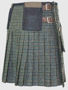 Harris Tweed Kilt   21st CENTURY KILTS