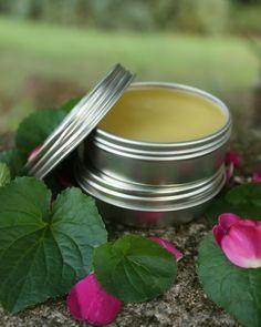 Violet Leaf Balm – Good For Eczema, Fibrocystic Breasts