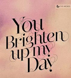 Brighten it up