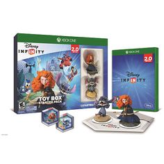 Disney Infinity (2.0 Edition) Toy Box Starter Pack Featuring Disney Originals…