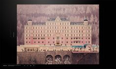The Grand Budapest Hotel Experience Site