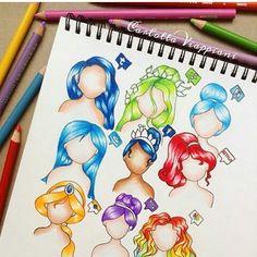 Social media hairstyles ❤