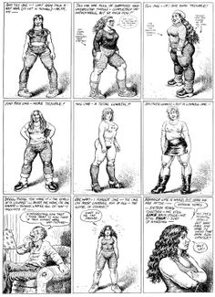 The girls of R. Crumb