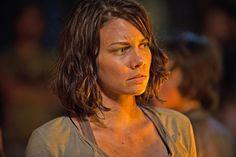 The Walking Dead: Lauren Cohan on her 'Hitchcock moment'