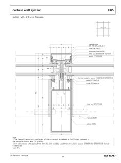 Arch Architecture, Architecture Sketchbook, Building Facade, Building Design, Curtain Wall Detail, Wall Section Detail, Architectural Section, Exterior Cladding, Glass Facades