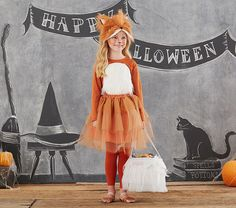 Adorable Fox Tutu Halloween Costume from Pottery Barn Kids! Best Picture For kids costumes star wars Kids Fox Costume, Fox Halloween Costume, Baby Girl Halloween, Halloween Kids, Scarecrow Costume, Tutu Costumes, Animal Costumes, Ladybug Tutu, Baby Ladybug