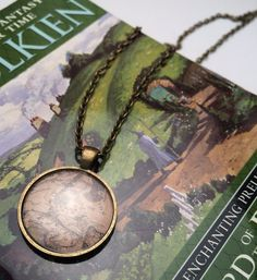 Lord of the Rings: Middle Earth Map Pendant by OneForTheBooks