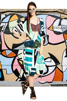 In Abstract - Joe Zee Transforms Street Art into Everyday Style