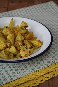 Gourmandises végétariennes: Aloo Gobi - Kartoffeln und Blumenkohl