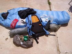 Ultralight Backpacking Gear List -- I dont think I could reduce that far, but I am quite impressed... - Nature Walkz