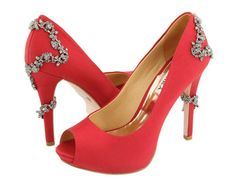 coral wedding shoes... love them!